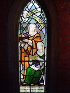 Restored Stained Glass Church Window