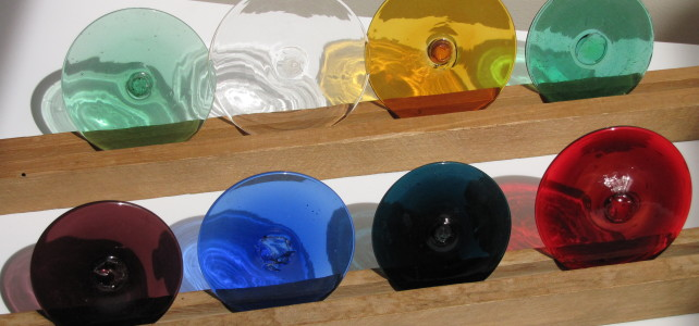 Glass Rondels and Bevels