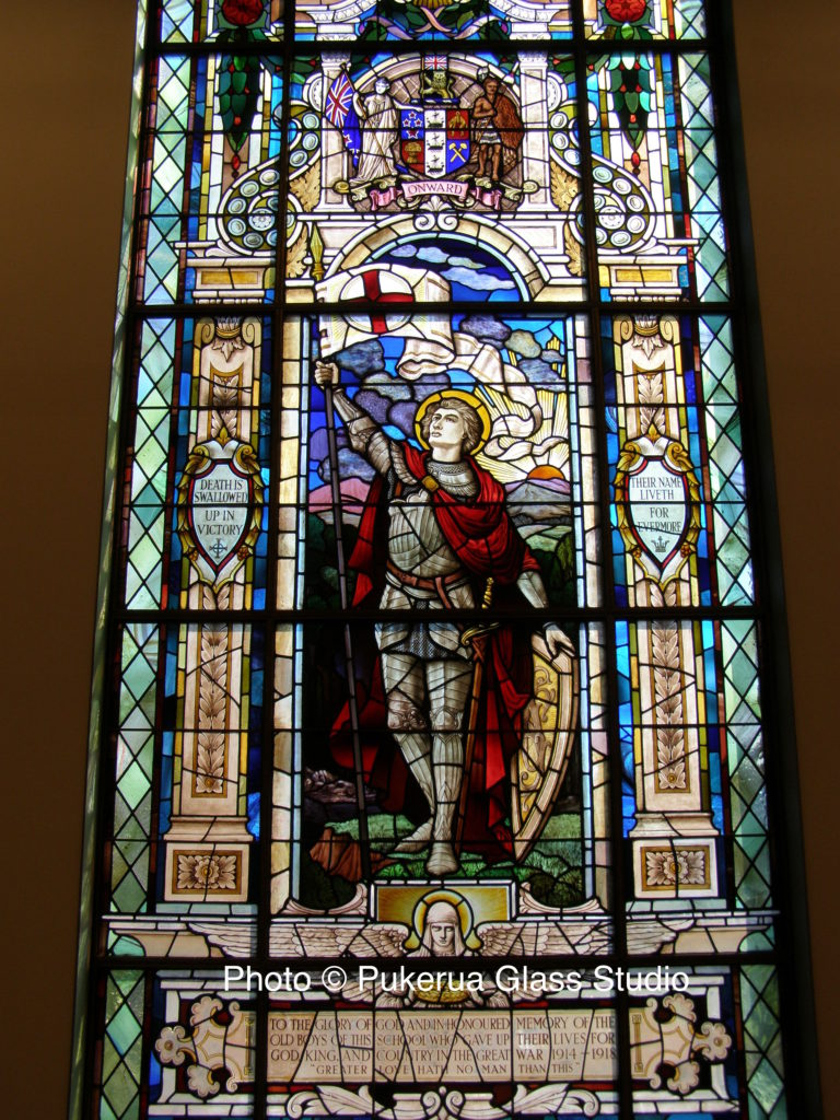 Heritage stained glass window